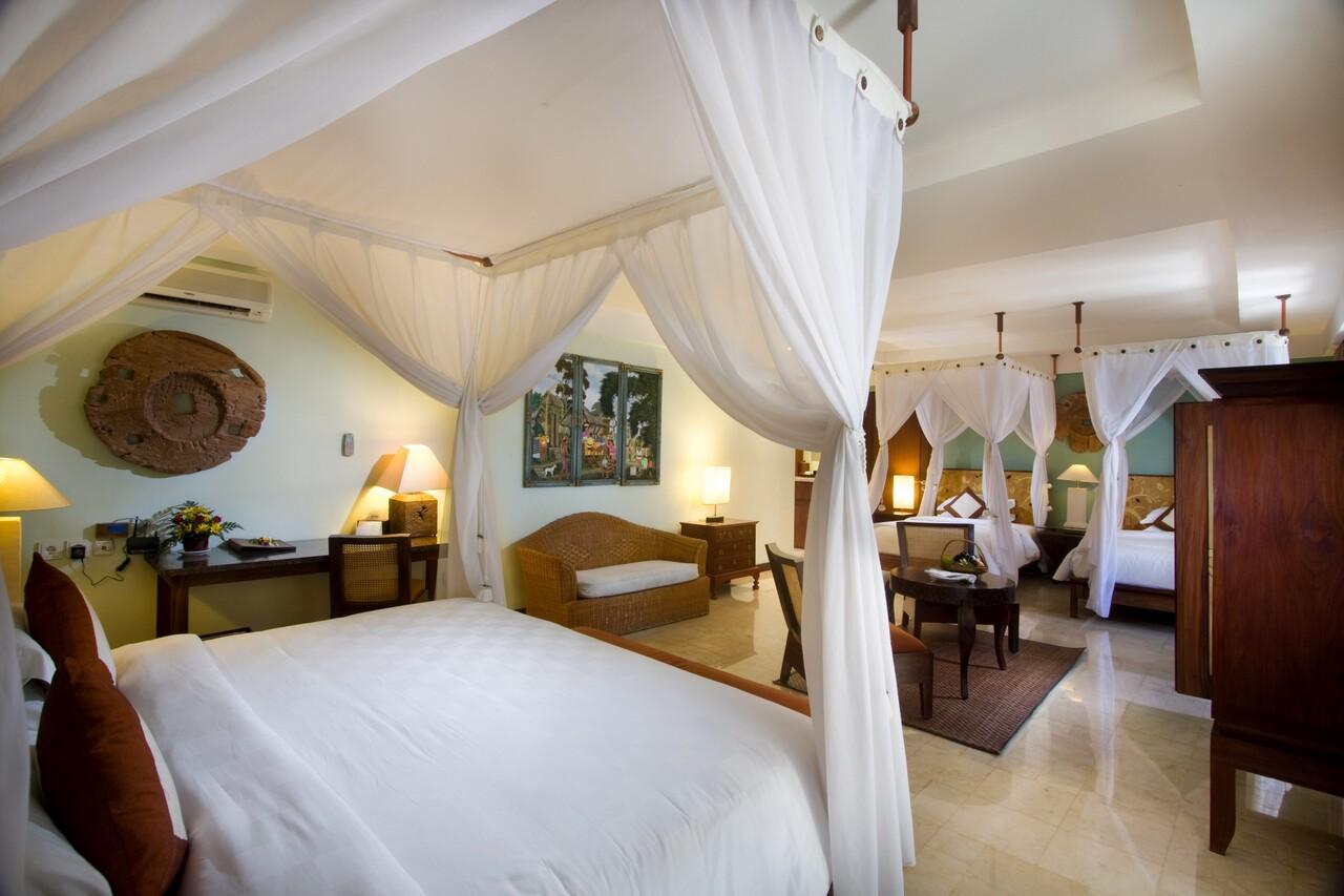 巴厘岛 - 拉玛海滩度假村和别墅