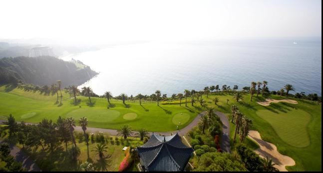 济州岛 中文高尔夫球场jungmun