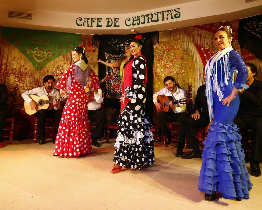 马德里弗拉门戈表演 CAFé DE CHINITAS